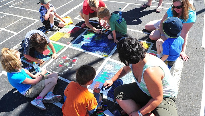 Chalk It Up! Prescott this weekend
