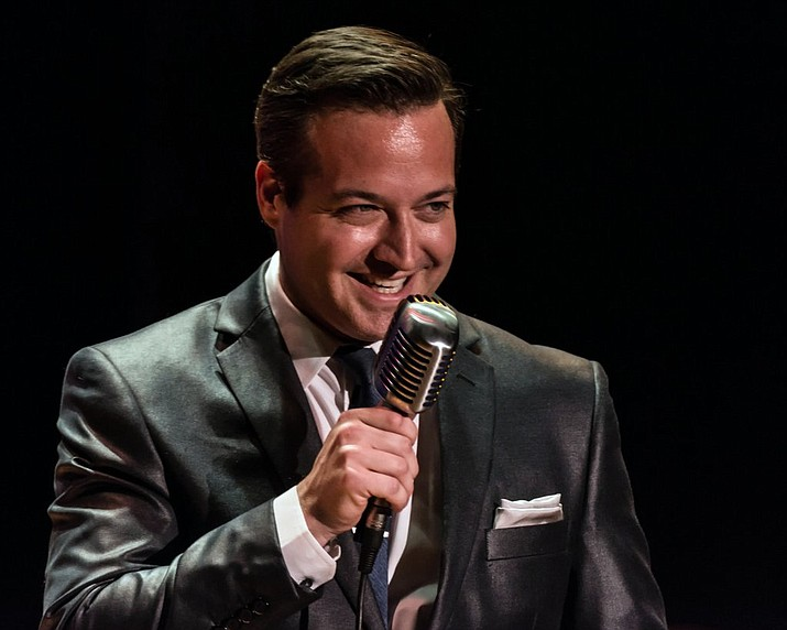 "Robert Shaw is Bobby Darin in Lonely Street Productions' ""Dream Lover – A Salute to Bobby Darin,"" which comes to the Elks Theatre and Performing Arts Center in downtown Prescott Saturday, April 16, at 7 p.m."