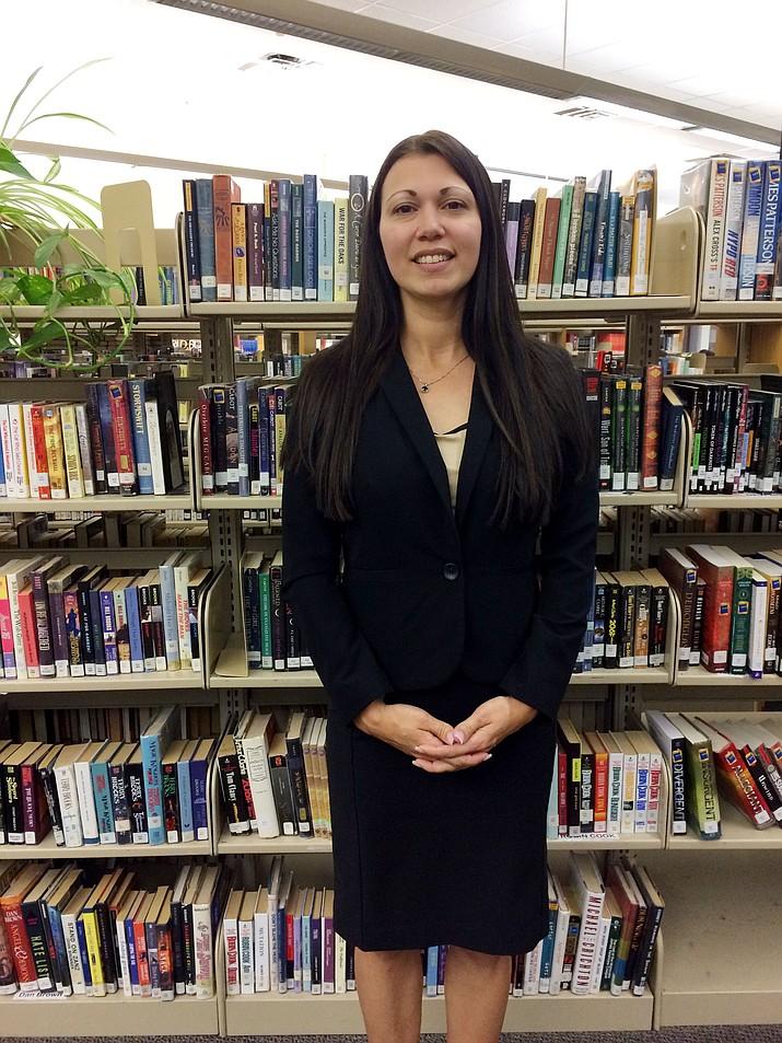 New Lake Valley Elementary Principal Aimee Fleming.