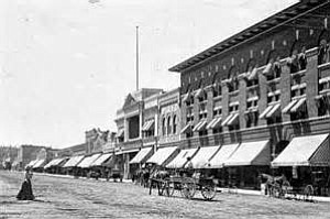 Downtown Prescott's famed Whiskey Row