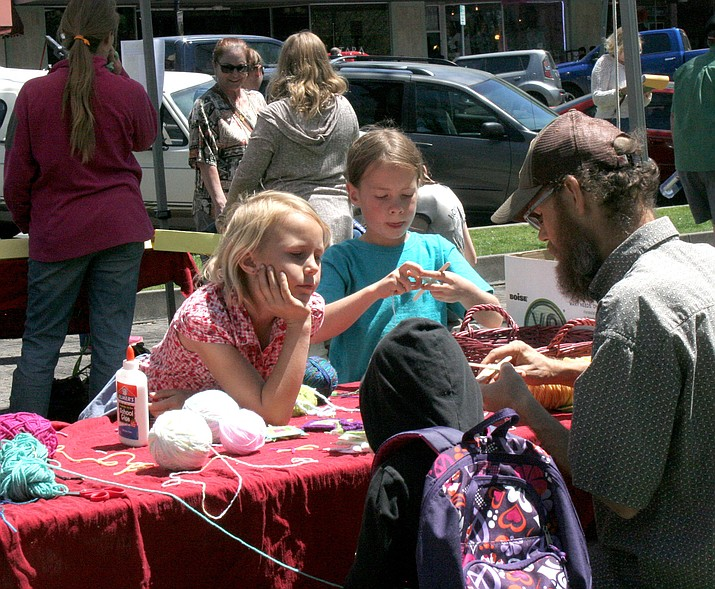Earth Day was celebrated in downtown Prescott.