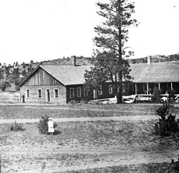Club House of General George Crook and General Kautz, Fort Whipple