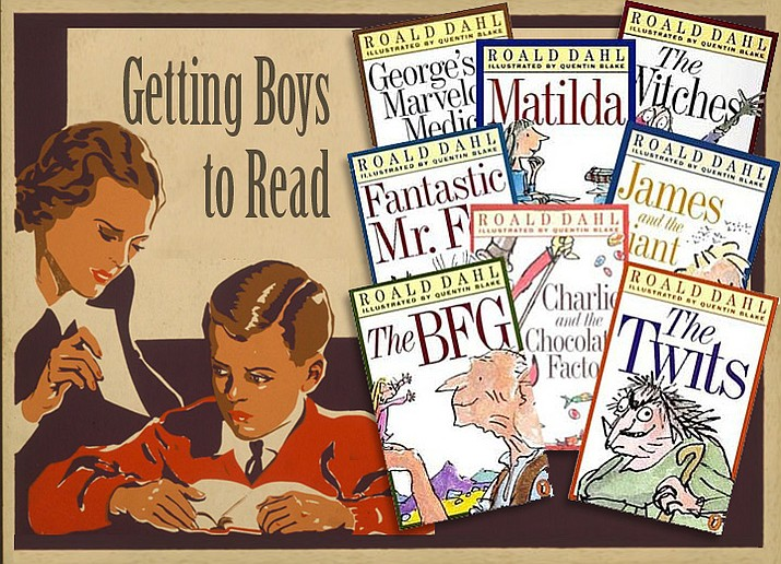 If you have a child - especially a boy - who may not be motivated to read, may I recommend any number of children's books by Roald Dahl.