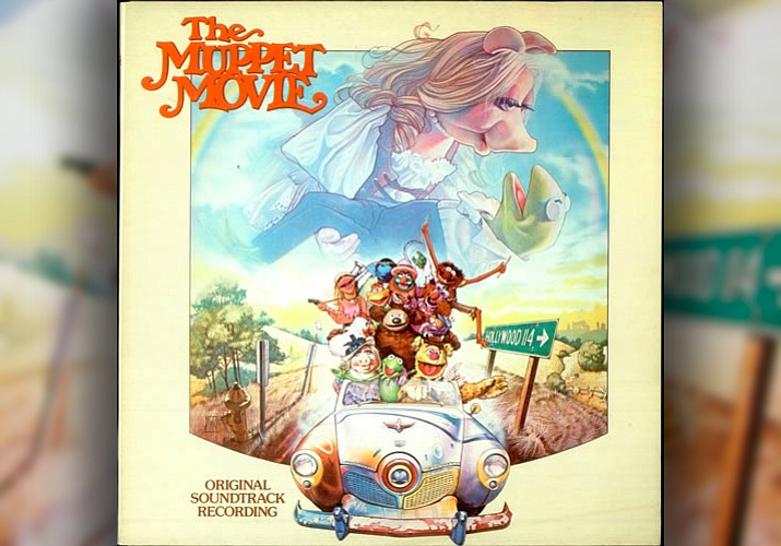"The original cover art of the Grammy winning 1979 soundtrack for ""The Muppet Movie."" The album was produced by Paul Williams and executive produced by Muppet creator Jim Henson. It was just re-released in Aug. 2013."