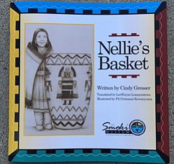 "Proceeds from the sale of ""Nellie's Basket,"" a children's book by Smoki Museum Executive Director Cindy Gresser, will go to restore the story's subject."