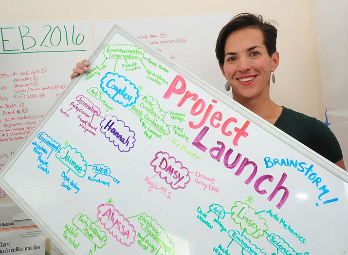 Courtney Osterfelt is the Executive Director of the Launch Pad Teen Center in Prescott.  (Les Stukenberg/The Daily Courier)