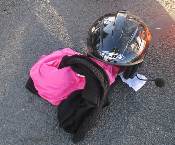 Police credit helmets worn by the motorcycle riders with preventing them from being injured more seriously. (Prescott Valley Police photo)