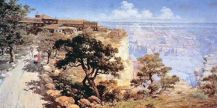 """El Tovar, Grand Canyon,"" by Louis Akin."