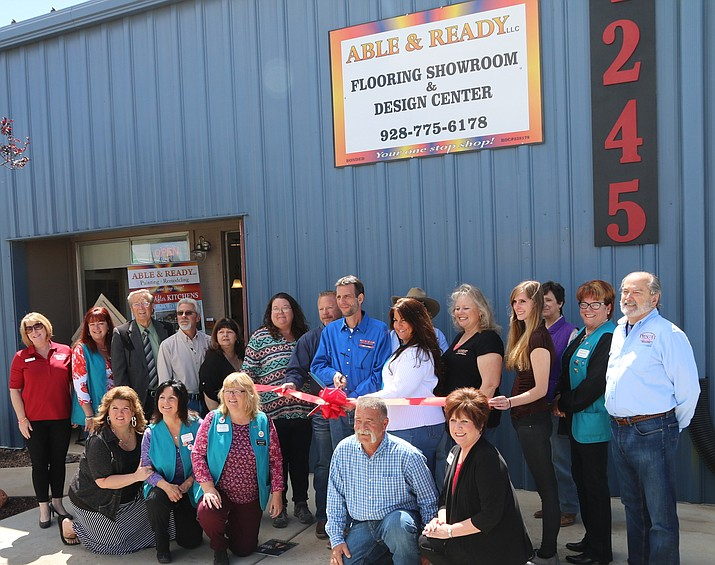 Able & Ready Painting Remodeling LLC celebrated its new home remodeling showroom April 27.