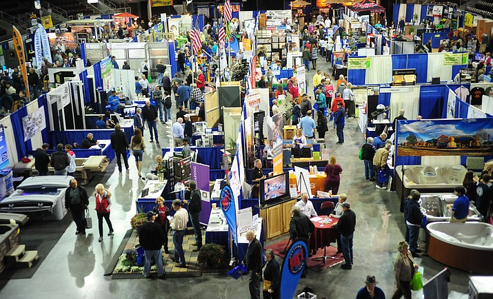 Exhibitors will be showing their products and services at the 38th annual Yavapai County Contractors Spring Home and Garden Show at the Prescott Valley Event Center through Sunday.