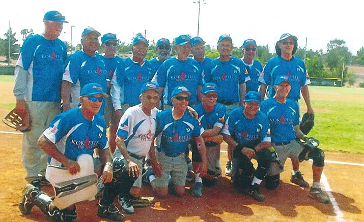 The Kokopelli Eye Institute Scorpions' ages 75-plus senior softball team from Prescott won the Southwest Championships April 21 in Las Vegas. It was the team's fourth tournament victory in as many appearances in 2016.