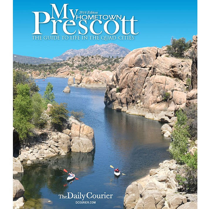 Cover image of My Hometown Prescott 2016