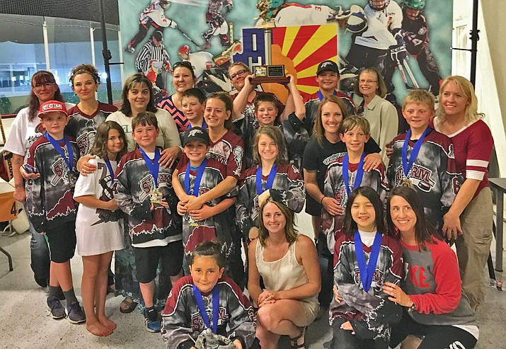 The 10U Prescott Storm won the division state trophy by beating Tucson-based Junior Wildcats, 6-2.