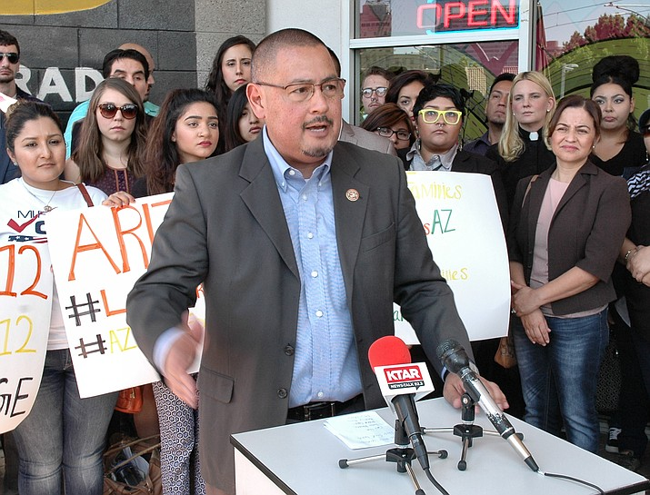 Maricopa County Supervisor Steve Gallardo is backing a ballot measure to set the state minimum wage at $12 an hour by 2020.