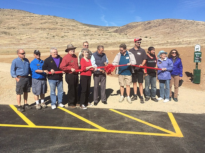 The Glassford Summit Trail officially opened with a ribbon cutting on Saturday, May 21.