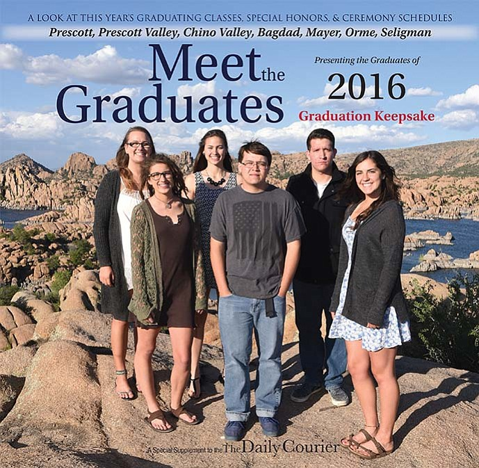 Prescott Newspaper's 2016 High School Graduation Special Section.