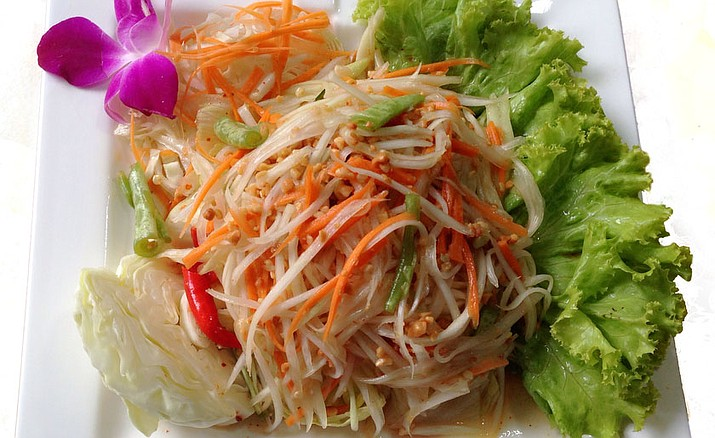 Papaya salad