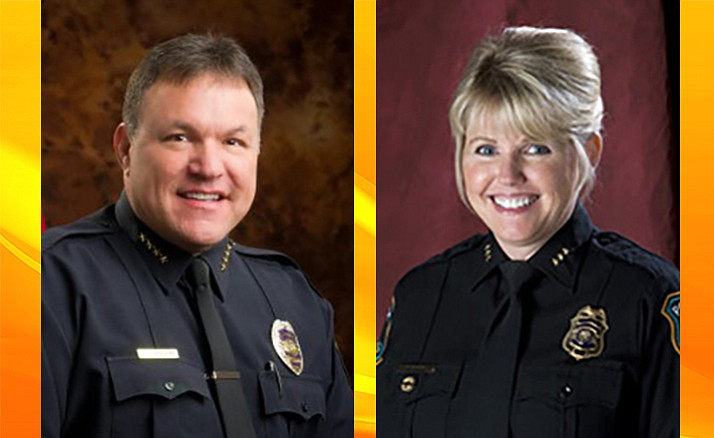 Derek Arnson and Deborah Black are the finalists for Prescott Police Chief. They have been invited for onsite interviews June 14.