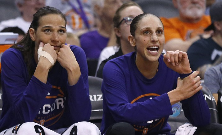 Taurasi scores 31, Taylor gets 1,000th assist in Mercury's 90-75 win   The Daily Courier   Prescott, AZ