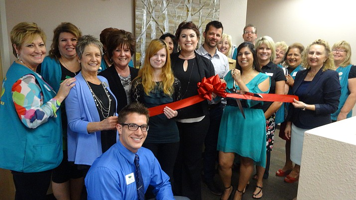 The Prescott Valley Chamber of Commerce was happy to celebrate Driggs Title Agency's new location with a ribbon-cutting on Thursday, May 5.