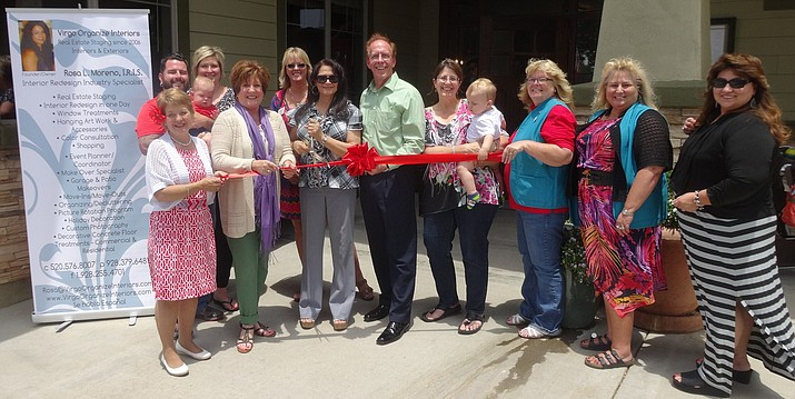 The Prescott Valley Chamber of Commerce was happy to welcome new member Virgo Organize Interiors with a ribbon-cutting on Friday, June 10.