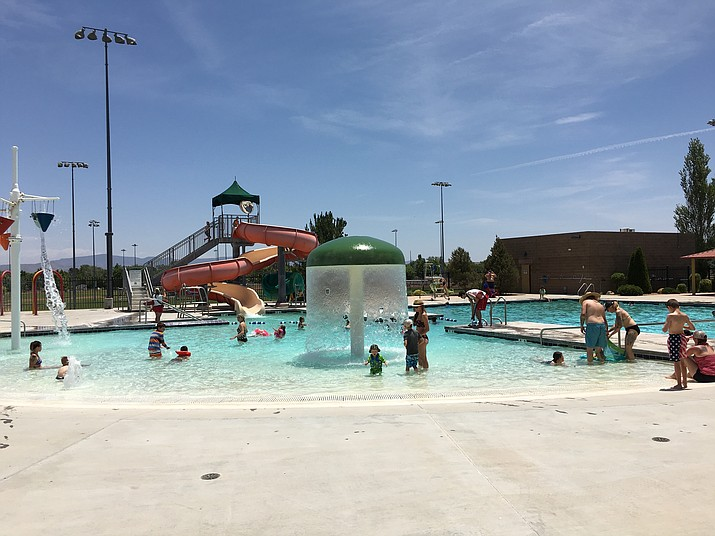 The Chino Valley Aquatics Center and Prescott Valley's Mountain Valley Splash are the area's outdoor pool options to keep cool.