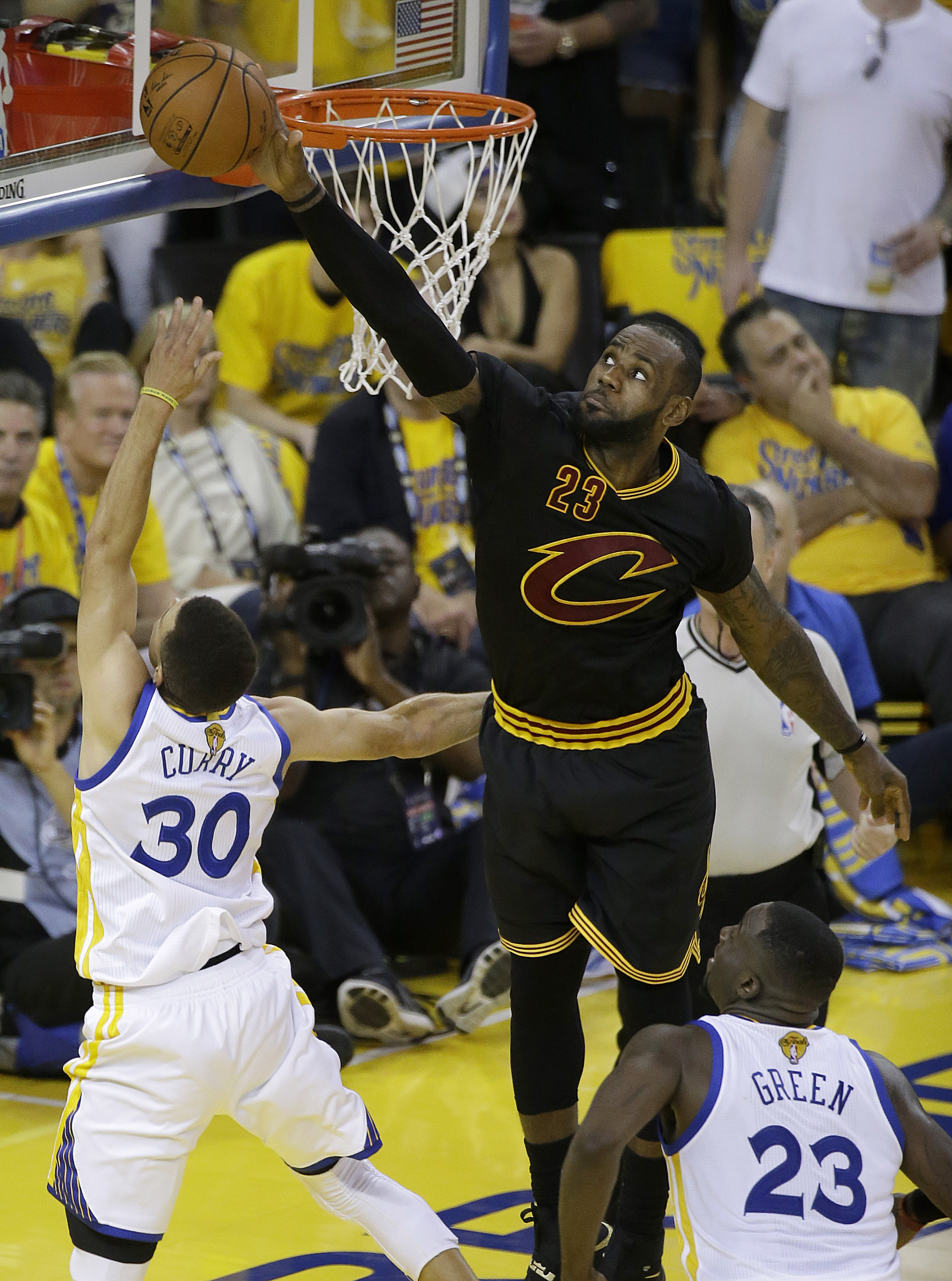 James, Cavaliers win thrilling NBA Finals Game 7 | The Daily Courier | Prescott, AZ