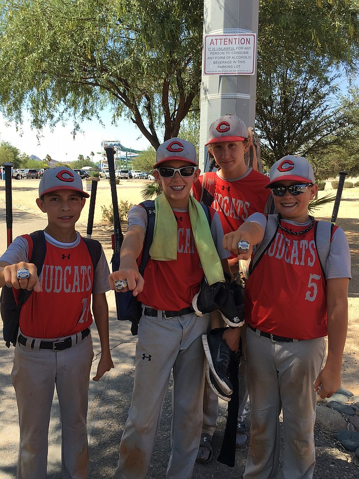 The Chino Valley Mudcats baseball team placed second at the state championships.