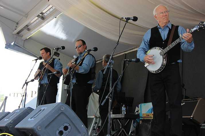 Old Blue Band is one of the five bands playing in the Bluegrass Festival this year.