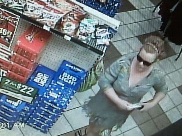 Deputies are looking for this woman in connection with a burglary and ID theft case,
