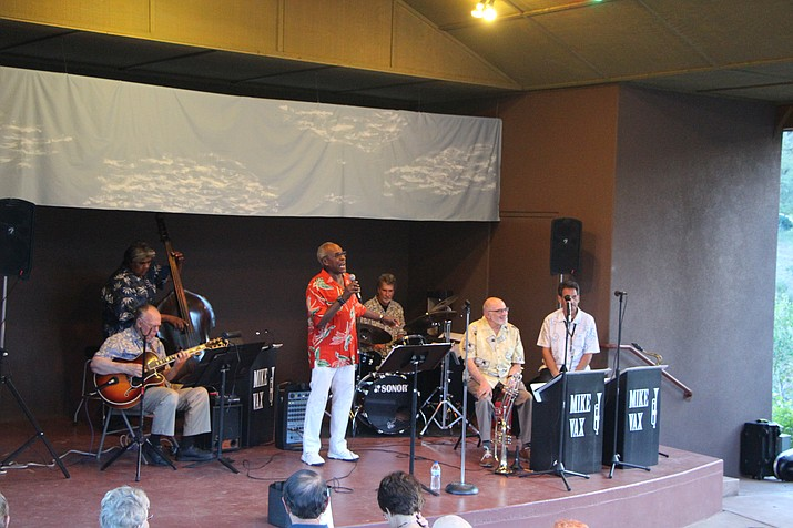 The jazz concert at the Highlands Center for Natural History on Saturday, July 9, will feature Dennis Rowland. Rowland will be accompanied by Mike Vax and the Jazz Summit All-Stars Band.
