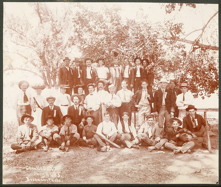 Miner's Union at Granite Dells, July 4, 1905.