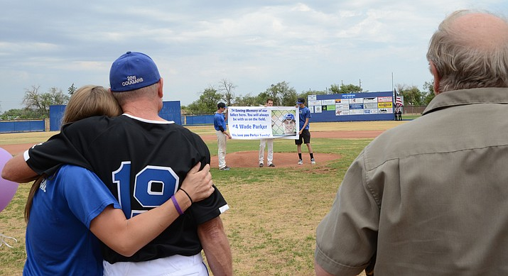 The first Wade Parker game took place days after the 19 Granite Mountain Hotshots died. This year will be the fourth game, but is the third annual fundraising event. (PNI file photo)