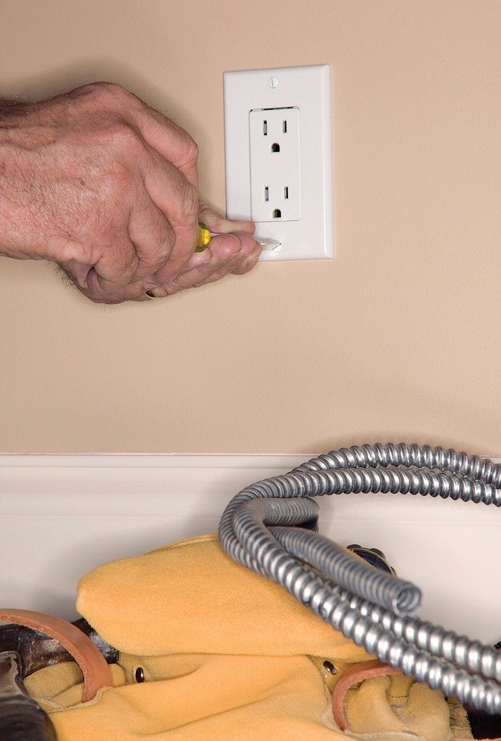 Check faulty wiring and replace any outlets that are not working.