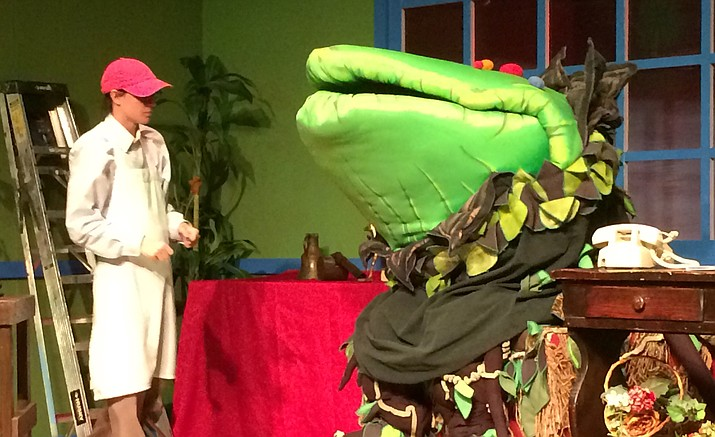 """The Little Shop of Horrors,"" a musical, is playing at Prescott Center for the Arts, Mainstage, 208 N. Marina St."