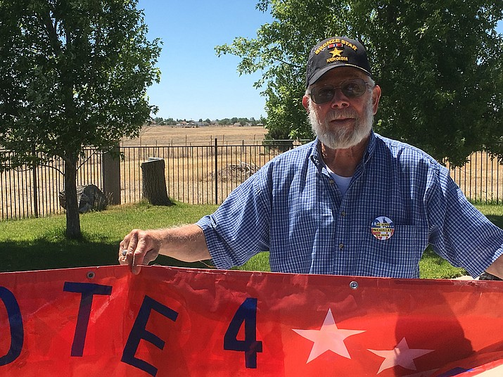 Robert McCaullay is running for mayor of Chino Valley in the Aug. 30 primary election.