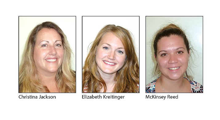 Three new teachers about to start their first year in the Chino Valley Unified School District.