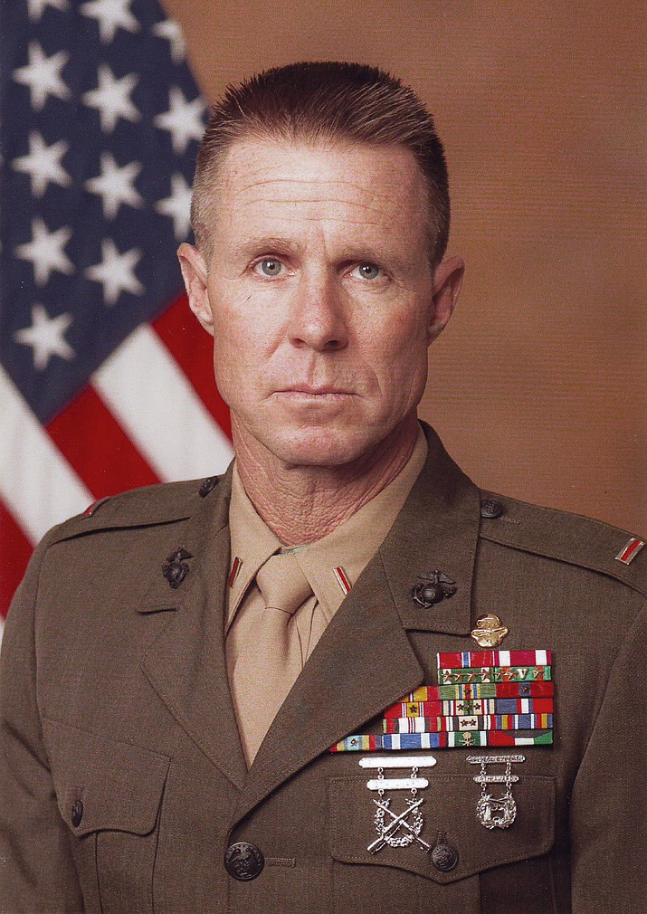 Alan Clyne retires from the United States Marine Corps ...
