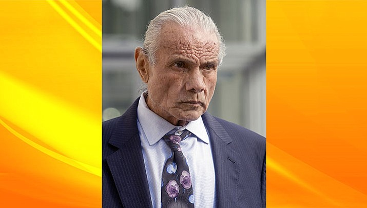 "In this Nov. 2, 2015, file photo, former professional wrestler Jimmy ""Superfly"" Snuka leaves Lehigh County Courthouse in Allentown, Pa. More than 50 former professional wrestlers sued World Wrestling Entertainment Inc., saying the company is responsible for repeated head trauma including concussions they suffered in the ring that led to long-term neurological damage. Snuka, Joseph ""Road Warrior Animal"" Laurinaitis and Paul ""Mr. Wonderful"" Orndorff are among the plaintiffs who filed the lawsuit Monday, July 18, 2016, in federal court in Connecticut."