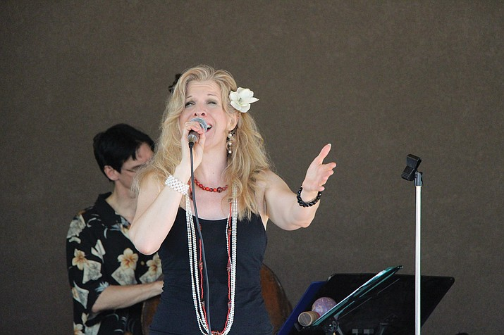 The jazz concert at the Highlands Center for Natural History on Saturday, Aug. 6, will feature Susannah Martin, above, accompanied by Mike Vax and the Jazz Summit All-Stars Band.