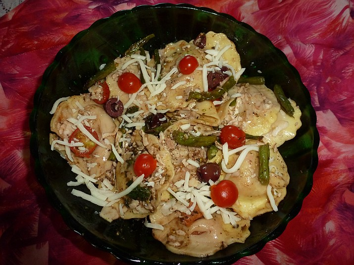 Ravioli Veggie Salad is the Cooking with Diane recipe for Aug. 3, 2016.
