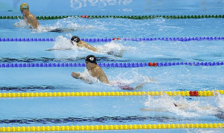kazakhstan wins 1st olympic swim medal - Olympic Swimming Breaststroke