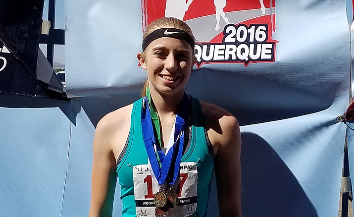 Prescott junior Makennah Mills has placed fourth in the 2,000-meter steeplechase at the USA Track and Field (USATF) National Junior Olympic Championships.