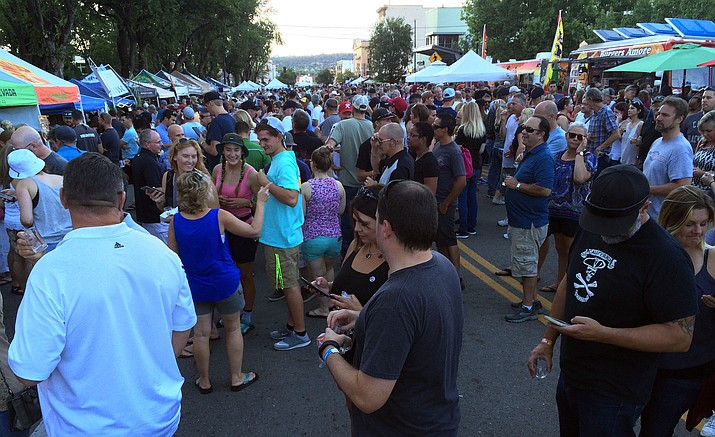 Within the first hour, 2,800 people were already in attendance for the fifth annual Mile High Brewfest.