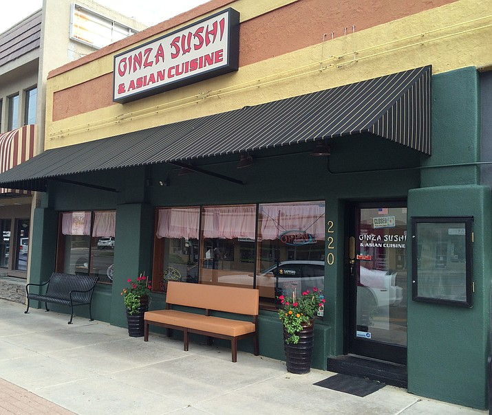 Ginza Sushi & Asian Cuisine will hold its grand opening Aug. 19.
