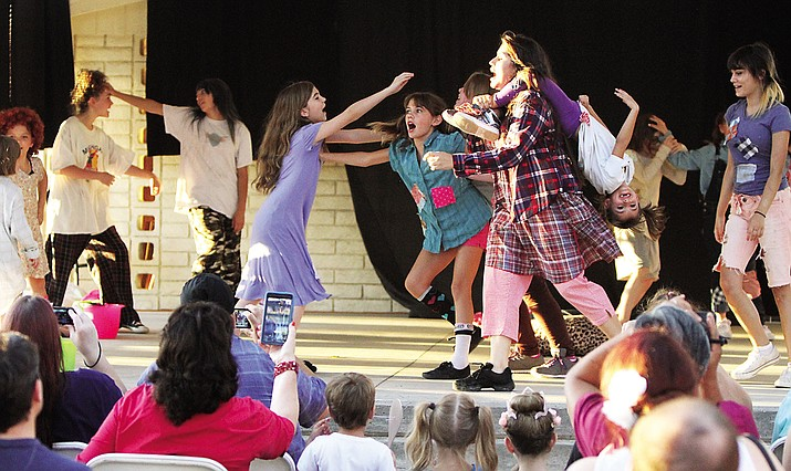 "A staged production of ""Annie"" was held by Beale Street Theater as part of their Arts in the Park Bazaar to raise funds for the community theater."