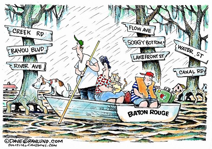 Editorial cartoon: Aug. 17, 2016