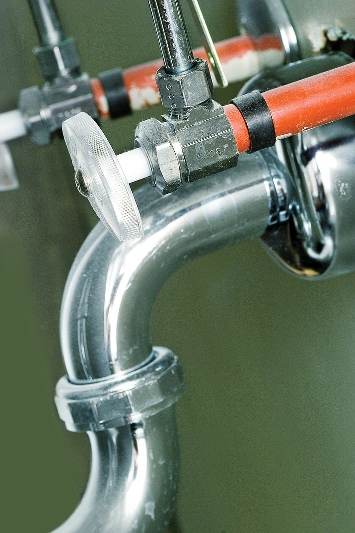 Loud banging in pipes may mean that it needs air added to cushion water after its shut off. (Metro Creative Graphics)