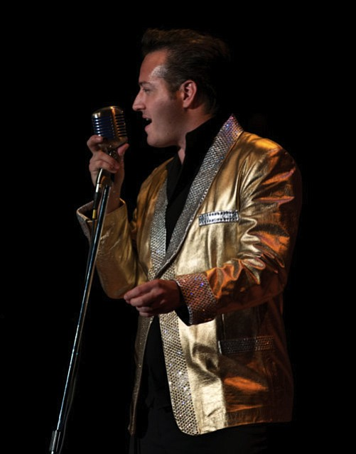 "Robert Shaw plays the role of Elvis in ""Heartbreak Hotel,"" which will be at the Elks Theatre in Prescott on Saturday, Aug. 20, at 7 p.m."