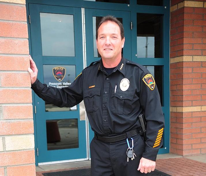 Prescott Valley Police Chief Bryan Jarrell.